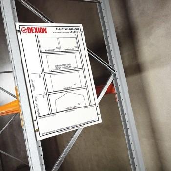 Safe Working Load Sign 1 Dexion