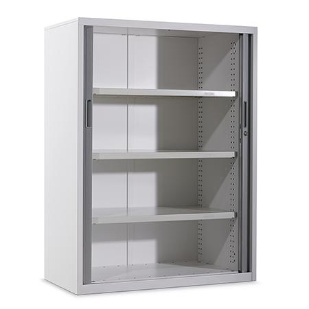 Strata 2 Tambour Door Cabinet Dexion Commercial Office Cabinets