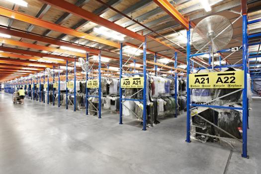 Structural Raised Storage Areas